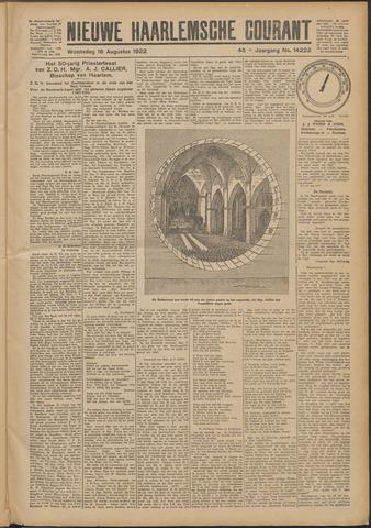Nieuwe Haarlemsche Courant 1922-08-16