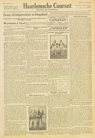 Haarlemsche Courant 1943-01-06