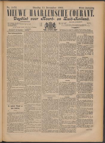 Nieuwe Haarlemsche Courant 1903-12-15
