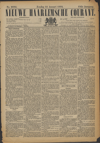 Nieuwe Haarlemsche Courant 1894-01-21