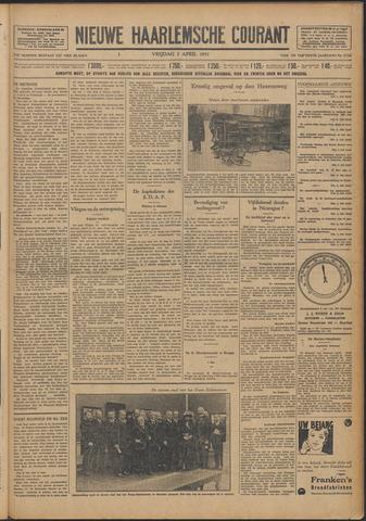 Nieuwe Haarlemsche Courant 1931-04-03