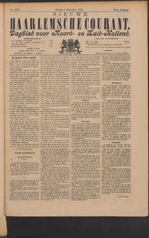 Nieuwe Haarlemsche Courant 1899-09-05