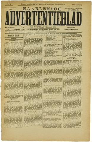 Haarlemsch Advertentieblad 1889-01-09