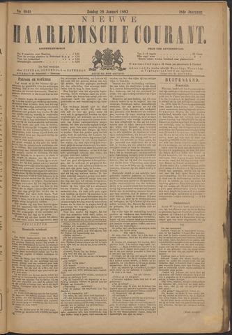 Nieuwe Haarlemsche Courant 1893-01-29