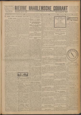 Nieuwe Haarlemsche Courant 1925-04-16