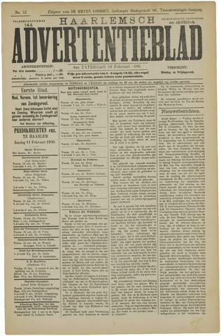 Haarlemsch Advertentieblad 1900-02-10