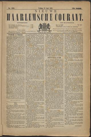 Nieuwe Haarlemsche Courant 1891-06-19