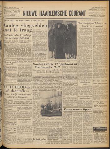 Nieuwe Haarlemsche Courant 1952-02-12