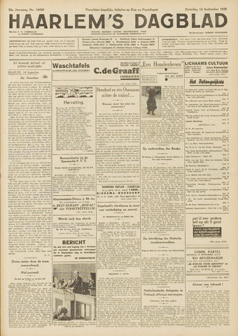 Haarlem's Dagblad 1935-09-14