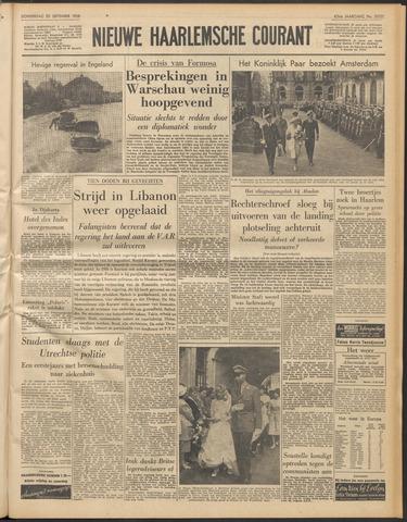 Nieuwe Haarlemsche Courant 1958-09-25