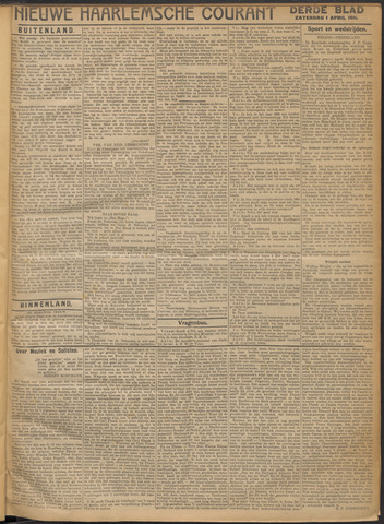 Nieuwe Haarlemsche Courant 1911-04-01