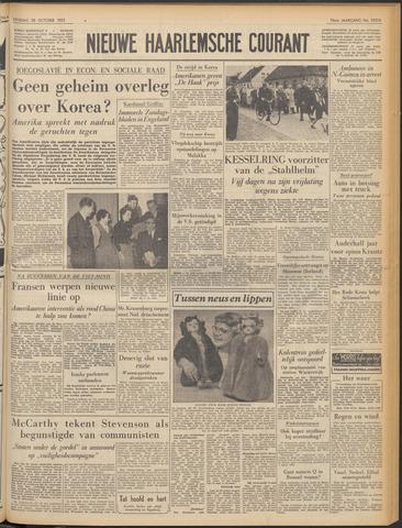Nieuwe Haarlemsche Courant 1952-10-28