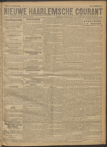 Nieuwe Haarlemsche Courant 1919-01-10