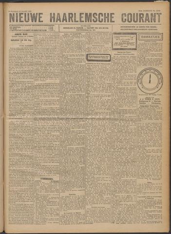 Nieuwe Haarlemsche Courant 1922-03-29