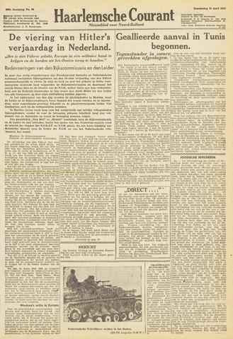 Haarlemsche Courant 1943-04-22