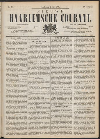 Nieuwe Haarlemsche Courant 1877-07-05
