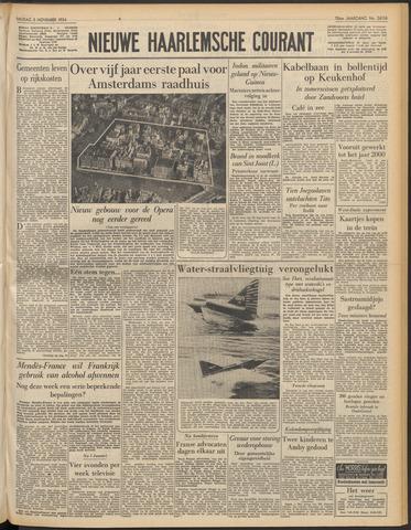 Nieuwe Haarlemsche Courant 1954-11-05