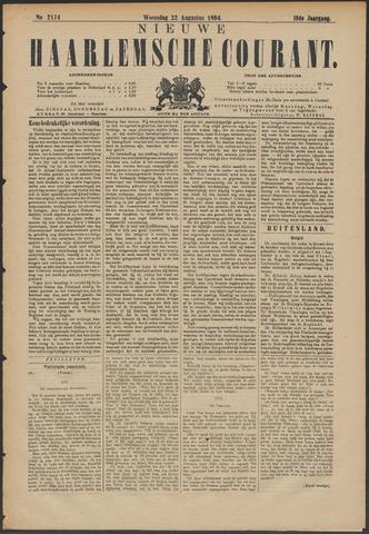 Nieuwe Haarlemsche Courant 1894-08-22