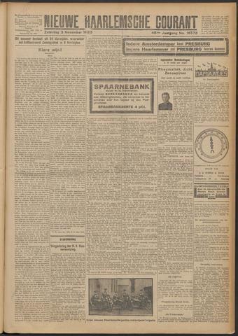 Nieuwe Haarlemsche Courant 1923-11-03