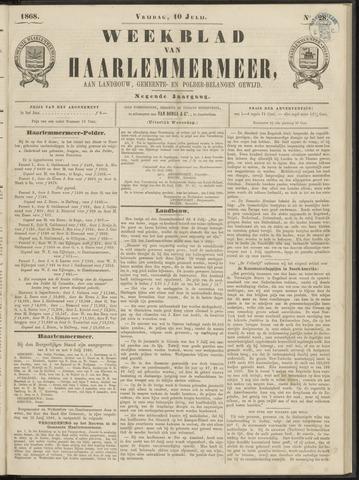 Weekblad van Haarlemmermeer 1868-07-10