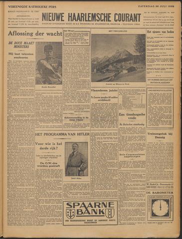 Nieuwe Haarlemsche Courant 1932-07-30
