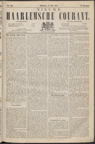 Nieuwe Haarlemsche Courant 1881-05-12