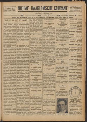 Nieuwe Haarlemsche Courant 1931-11-13