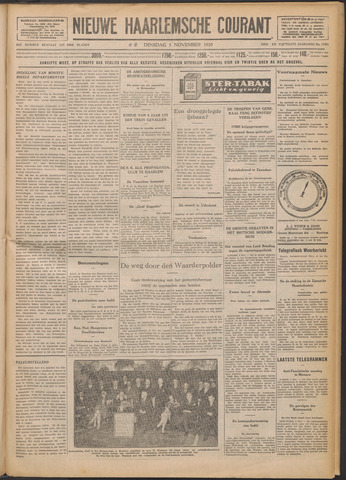 Nieuwe Haarlemsche Courant 1929-11-05