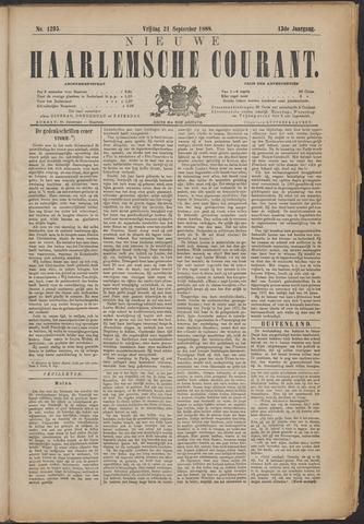 Nieuwe Haarlemsche Courant 1888-09-21