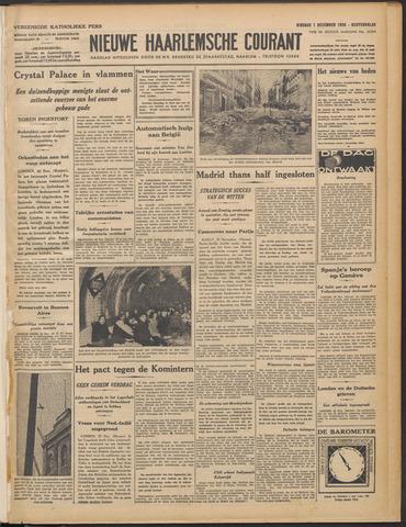 Nieuwe Haarlemsche Courant 1936-12-01