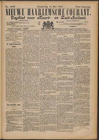 Nieuwe Haarlemsche Courant 1905-05-11