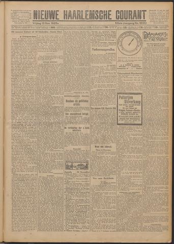 Nieuwe Haarlemsche Courant 1925-11-13