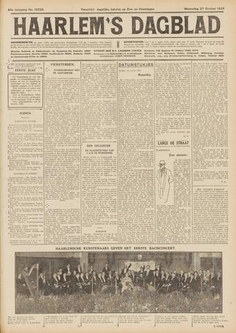 Haarlem's Dagblad 1926-10-27