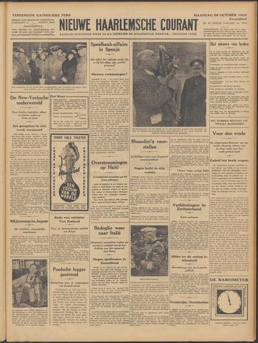 Nieuwe Haarlemsche Courant 1935-10-28
