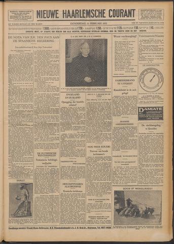 Nieuwe Haarlemsche Courant 1932-02-11