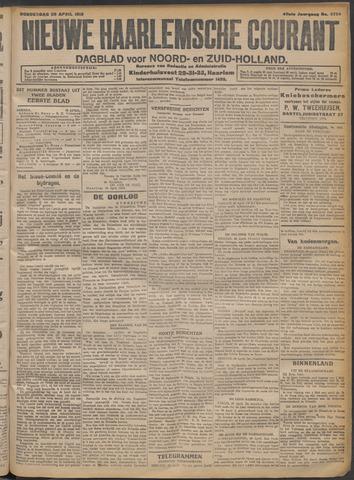 Nieuwe Haarlemsche Courant 1915-04-29