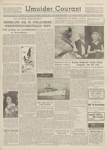 IJmuider Courant 1959-11-21
