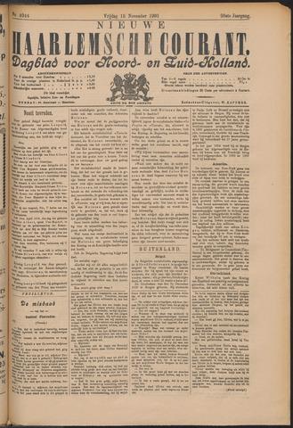 Nieuwe Haarlemsche Courant 1901-11-15