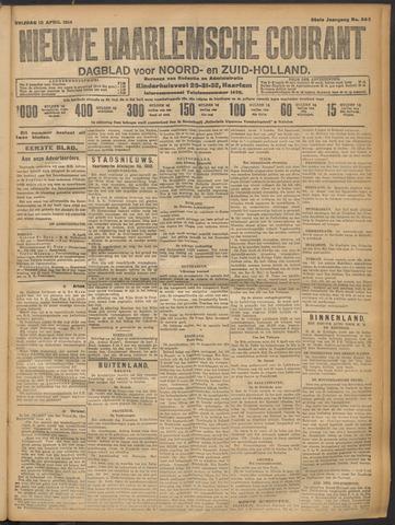 Nieuwe Haarlemsche Courant 1914-04-10