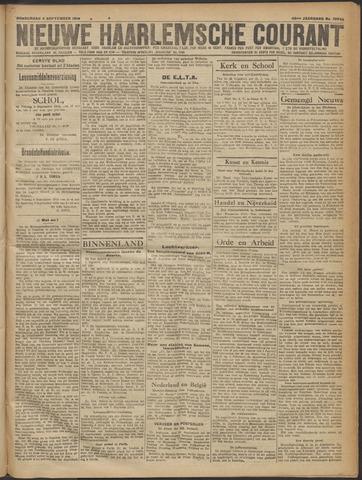 Nieuwe Haarlemsche Courant 1919-09-04