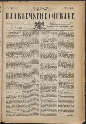 Nieuwe Haarlemsche Courant 1892-01-31