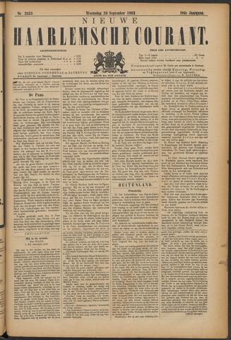 Nieuwe Haarlemsche Courant 1893-09-20