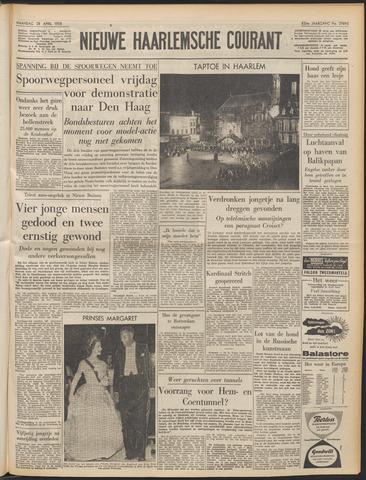 Nieuwe Haarlemsche Courant 1958-04-28