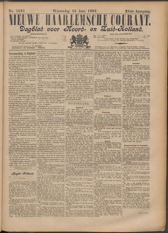 Nieuwe Haarlemsche Courant 1903-06-24