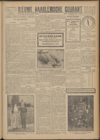Nieuwe Haarlemsche Courant 1923-11-19