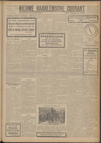 Nieuwe Haarlemsche Courant 1923-11-21
