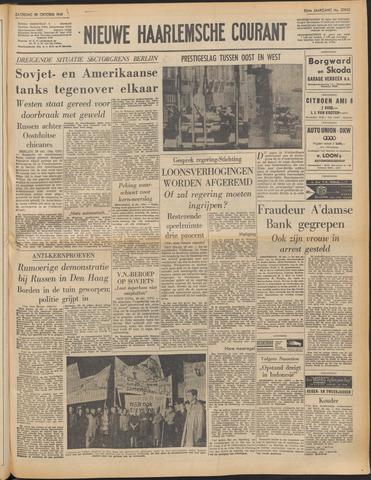 Nieuwe Haarlemsche Courant 1961-10-28