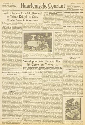Haarlemsche Courant 1943-12-01