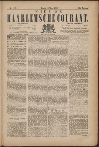 Nieuwe Haarlemsche Courant 1888-03-18