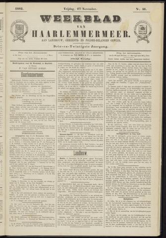 Weekblad van Haarlemmermeer 1882-11-17
